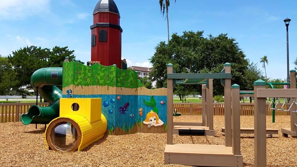 Manatee Playground City Of New Symrna Beach 4