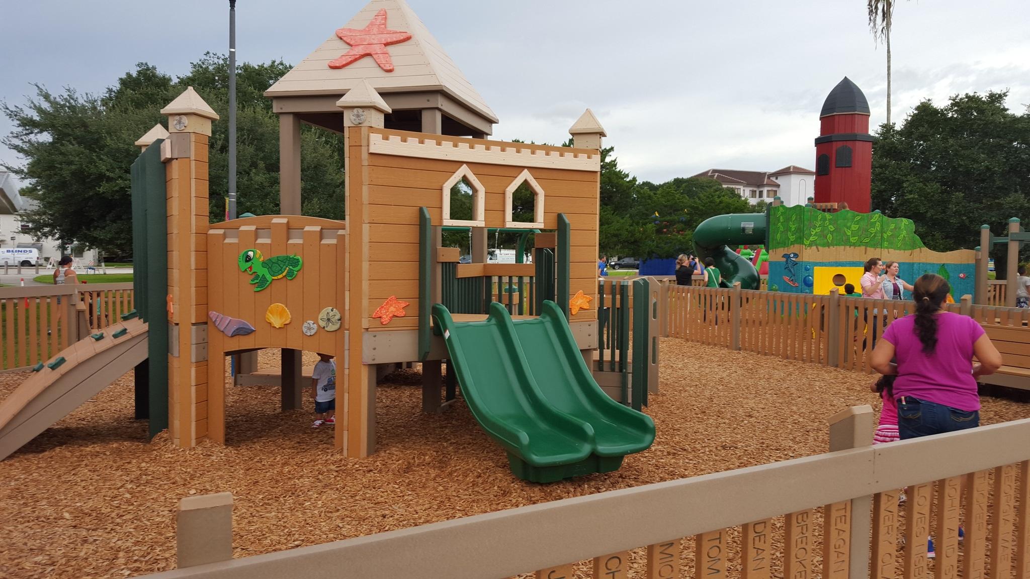 Manatee Playground City Of New Symrna Beach