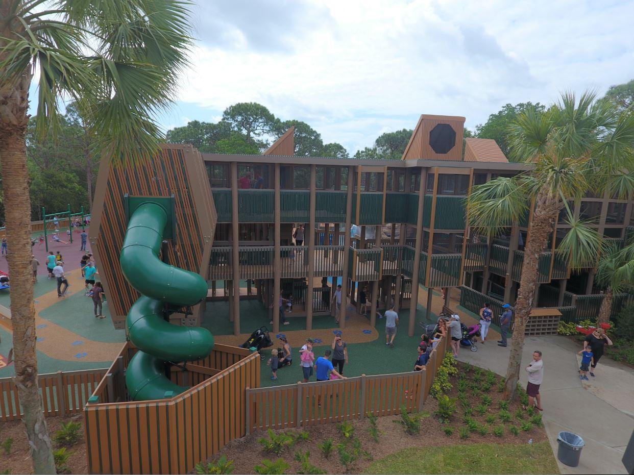 Sugar Sand Park Playground - Front