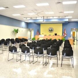 irb interior auditorium